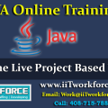 JAVA Online Training with Real Time Live Project