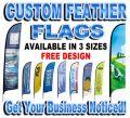 Medium Custom Feather Flag