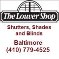 The Louver Shop Baltimore - Shutters, Shades and Blinds.