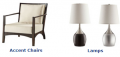 CF Accent Chairs & Lamps