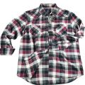 Black and Red Checked Flannel Shirts