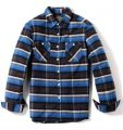 Blue and Black Check Shirt