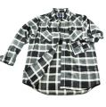 Black And Grey Checked Shirt