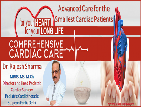 Dr. Rajesh Sharma Offers the Most Advanced Care for the Smallest Cardiac Patients