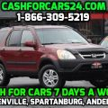 Where to sell my car for cash in Greenville SC