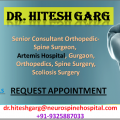 Dr. Hitesh Garg Best Spine Surgeon in India Helping People Find A Solution To Their Back Pain