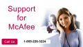 Support For Mcafee