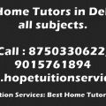 Home Tutors in Vasant Kunj, Vasant Vihar