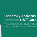 Fix Kaspersky Error 1-877-402-7778 Online Support