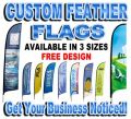 Medium Custom Feather Flag