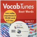 Vocab Tunes Root Words Grade K-2 CD included