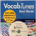 Vocab Tunes Root Words Grade 6-8 CD included