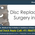 Affordable Total Disc Replacement Surgery with the Best Orthopaedic Hospitals of India
