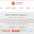 Order Attributes Magento 2 Extension