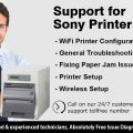 Sony Printer Support