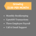 Bookkeeping Growing 600 Cash