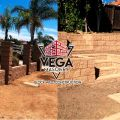 Vega Masonry Fence Block Wall