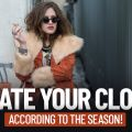 Rotate Your Closet According To The Season!