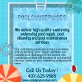 Keep your Pool clean with top services!