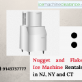 Nugget and Flake Ice Machine Rentals in NY, NJ and Connecticut
